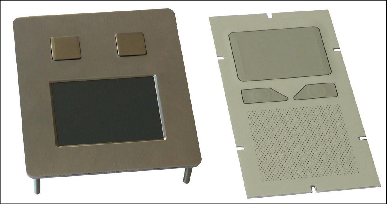IP68 vandal proof touch pads (הגדל)